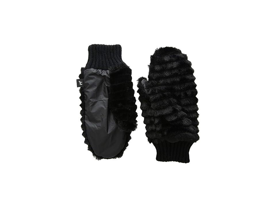 Echo Design Snow Drift Mittens (Echo Black) Extreme Cold Weather Gloves