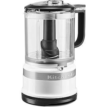 KitchenAid KFC0516WH 5 Cup whisking accessory Food Chopper, White