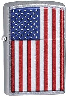 Zippo 29722 Patriotic Street Chrome Pocket Lighter, Multi, One Size