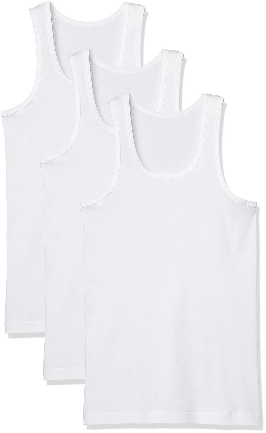 細分化する終了しました順番(グンゼ)GUNZE インナーシャツ 良品紀行 ランニング 綿100% 3枚組