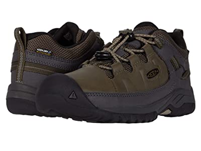 Keen Kids Targhee Low WP (Little Kid/Big Kid) (Bungee Cord/Dark Olive) Boy