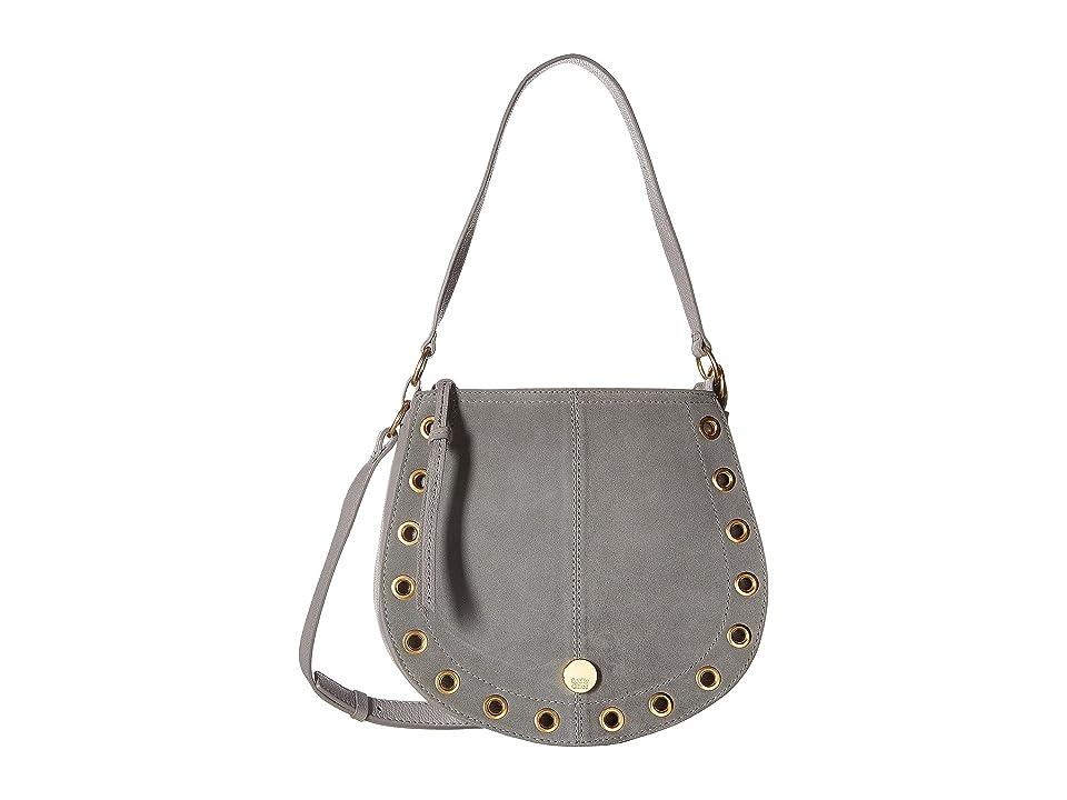 See by Chloe Kriss Small Suede Leather Hobo Bag (Skylight) Hobo Handbags