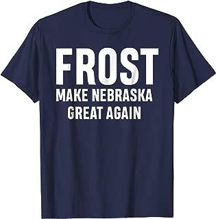 scott frost make nebraska great again t shirt