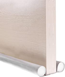 VISEMAN 36 Inch Jumbo Door Draft Stopper,Double Sided Draft Guard for Doors Windows,Under Door Draft Blocker Noise Reducer Air Stopper