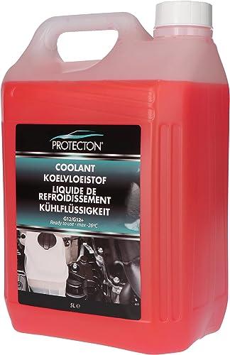 Protecton 1890910 Liquide de refroidissement G12/G12+ Prêt à l Emploi 5Ltr