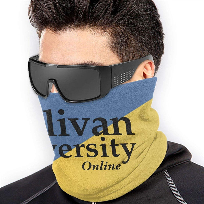 Sullivan A University Logo Unisex Comfort Microfiber Neck Gaiter Variety Scarf Face Motorcycle Cycling Riding Running Headbands.