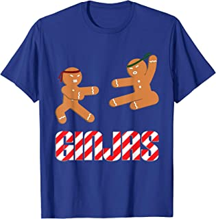 Ginjas Gingerbread Ninjas T-Shirt - Funny Christmas Shirt