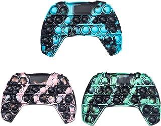QDASZZ Pop Push Game Controller Gamepad شکل Pop Push tie dye Bubble Sensory Fidget اسباب بازی اوتیسم نیازهای ویژه استرس برای کودکان
