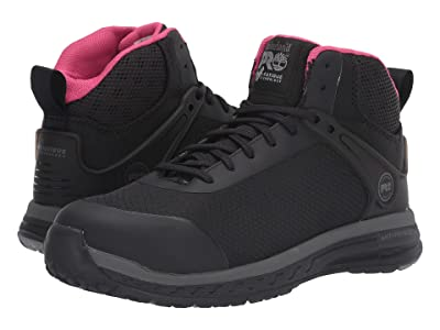 Timberland PRO Drivetrain Mid Composite Safety Toe ESD (Black) Women