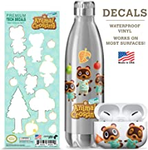 Controller Gear authentic and official Nintendo Animal Crossing tech decals (Set 1 Design)