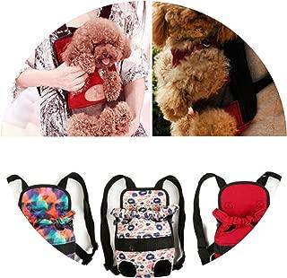 littlepiggy Pet Carrier Backpack Adjustable Pet Front Cat Dog Carrier Travel Bag Legs Out K
