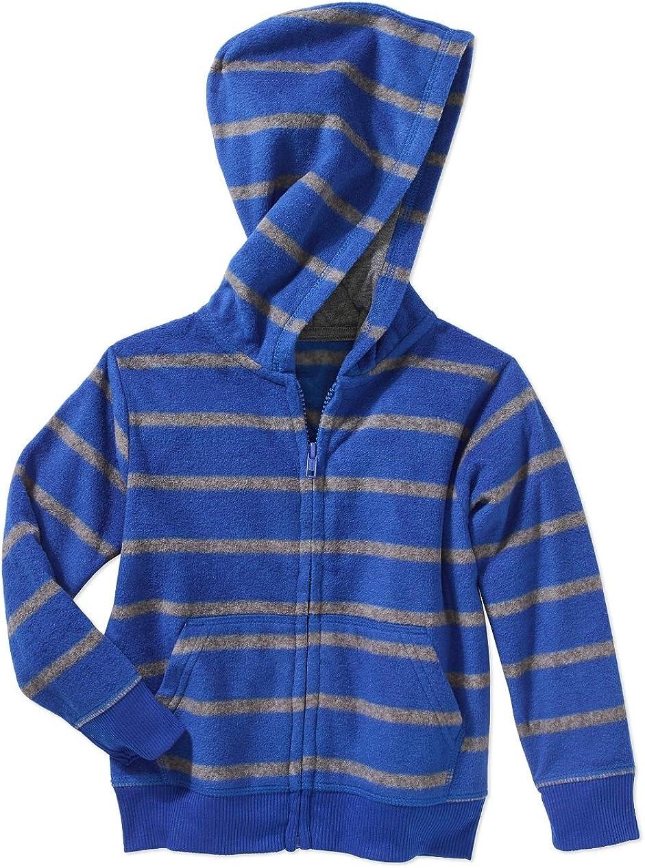 Garanimals 12m -5t Girls/Boys' Micro Fleece Zipper Hoodie Jacket Sweat Shirt