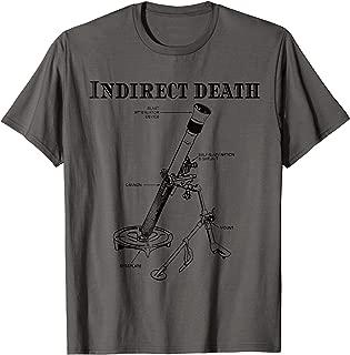 Indirect Death Infantry Mortarman Shirt 0341 13c Military