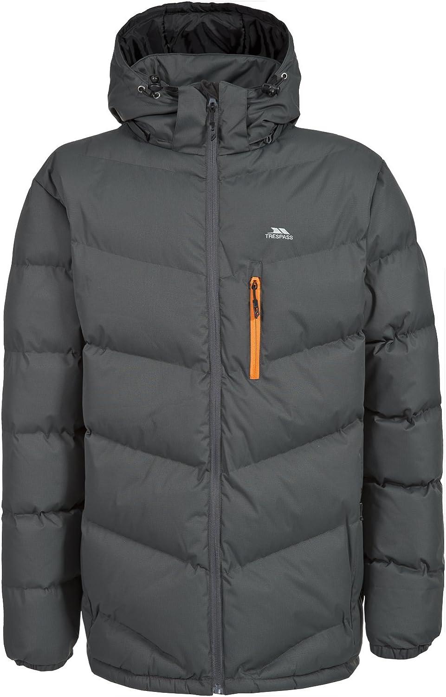 Trespass Blustery Casual Padded Mens Jacket Hooded Winter Heavyweight Jacket