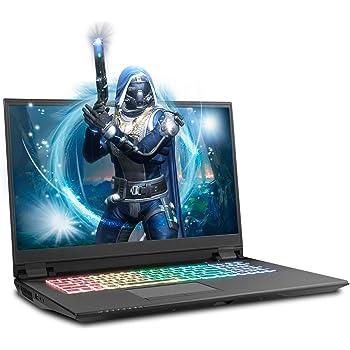 Sager NP8378F2 17.3-Inch FHD 144Hz G-Sync Gaming Laptop, Intel i7-10875H, RTX 2070 Super, 32GB 3200 RAM, 1TB NVMe SSD, RGB N-Key Rollover