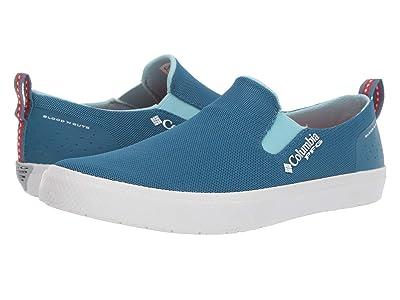 Columbia Doradotm Slip PFG (Mineral Blue/Coral) Women