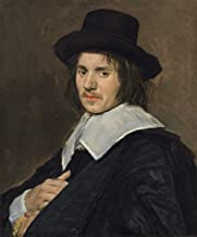 Fine Art Print - Frans Hals - Portrait of a Man 1648 - Vintage Wall Decor Poster Reproduction - 36in x 44in