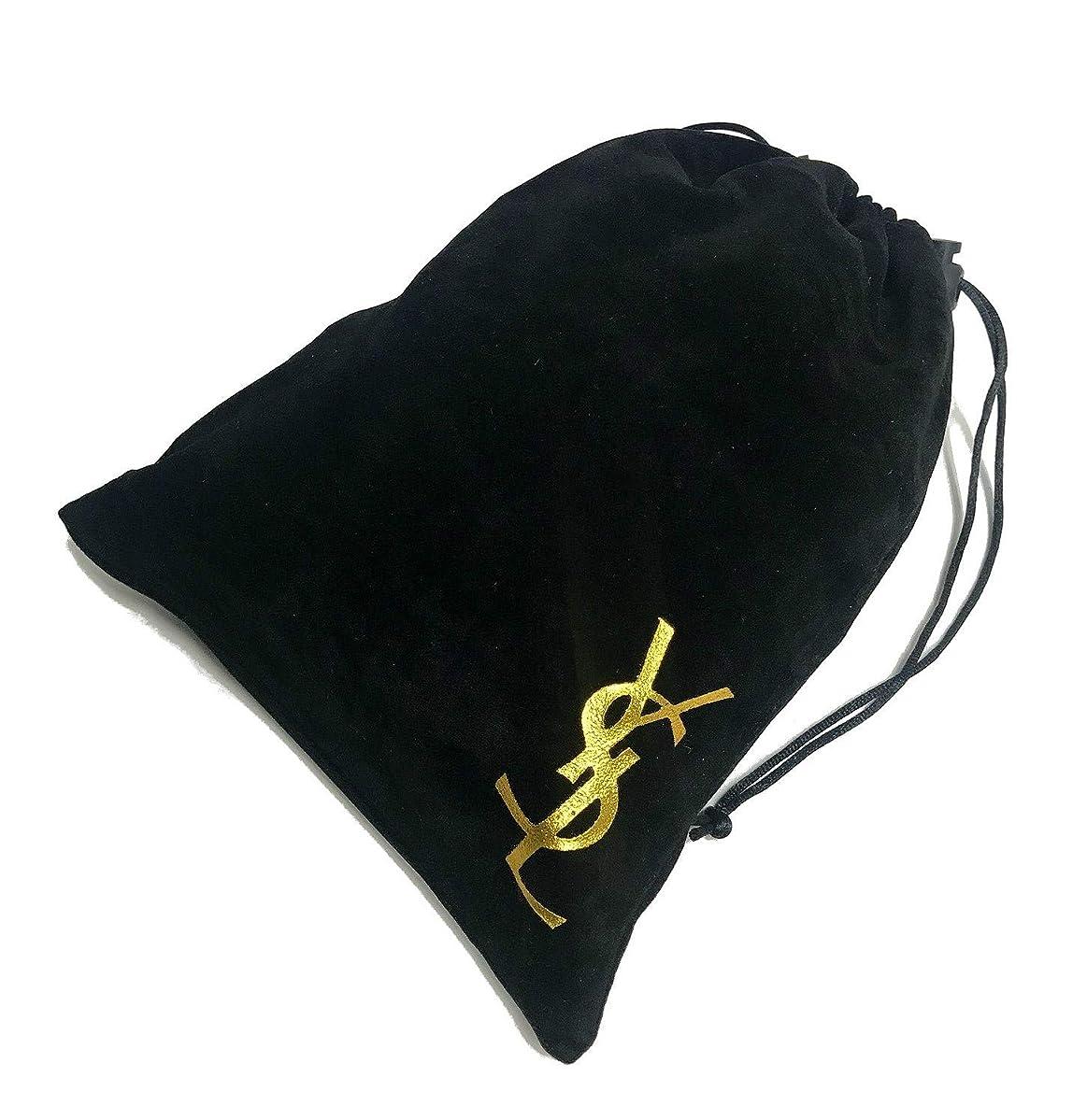 スピン手錠強調するYves Saint-Laurent コスメ 収納 ベロア 巾着袋 ポーチ