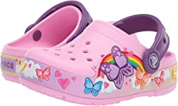 CrocsFunLab Butterfly Band Lights Clog (Toddler/Little Kid)