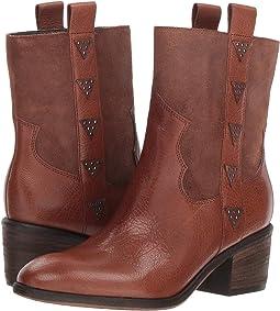 Teak Reverse Calf Leather