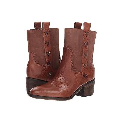Donald J Pliner Daze (Teak Reverse Calf Leather) Women