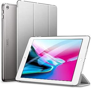 ESR iPad 9.7 ケース 2018と2017年モデル 軽量 薄型 レザー 三つ折スタンド オートスリープ機能 スマートカバー 全10色 2017年と2018年発売の9.7インチ iPad 対応 グレー