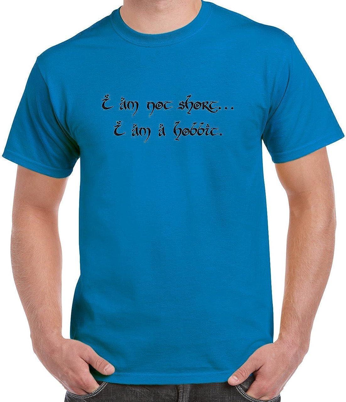 I am not Short, I am a Hobbit T-Shirt Youth S Sapphire
