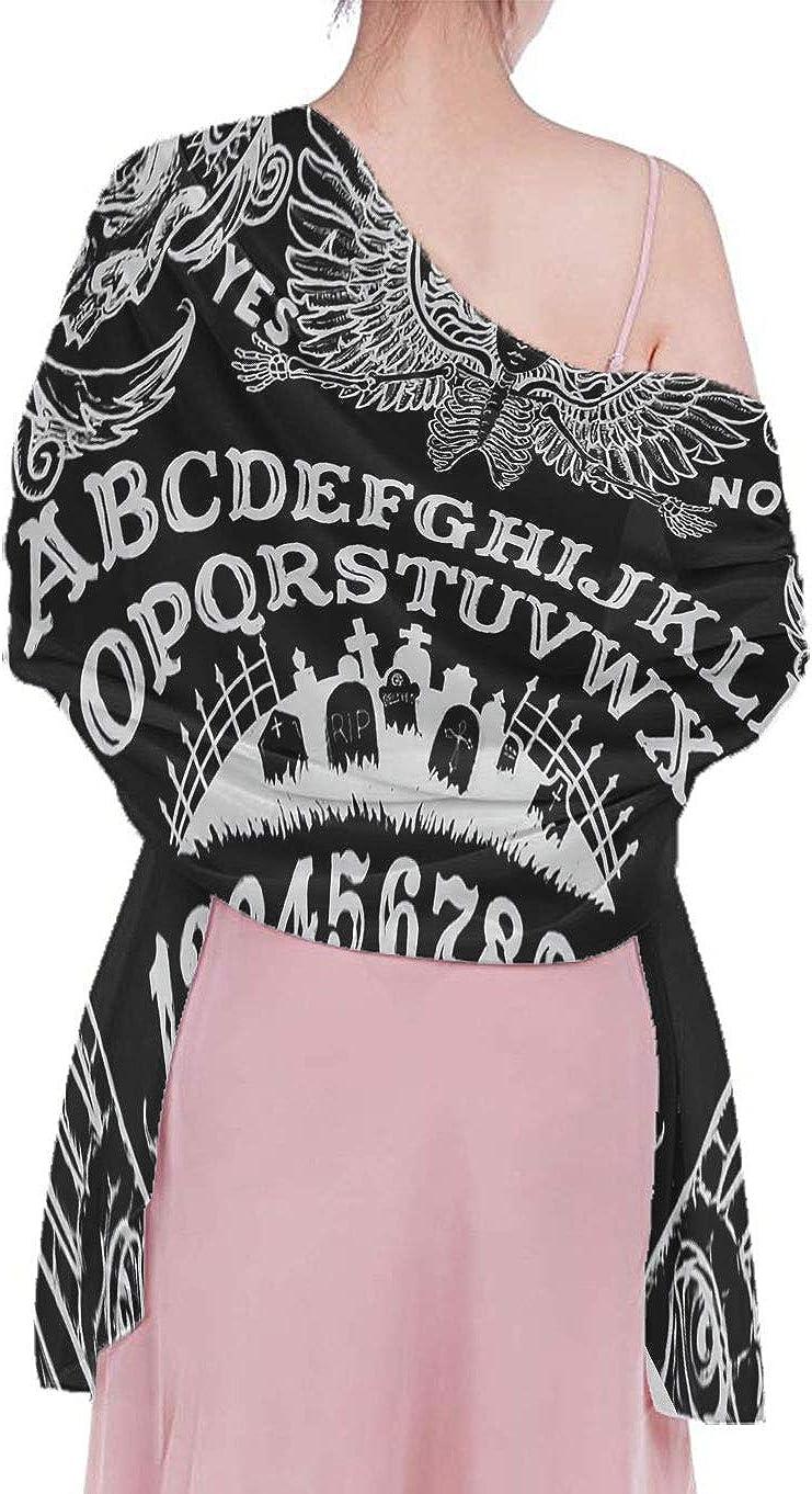 Chiffon Scarf - Long & Lightweight Sunscreen Shawls Beach Skirt For Women Girls