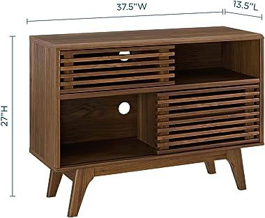 Modway EEI-2542-WAL Render, Display Stand, Walnut