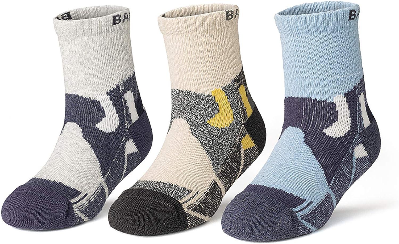 BlueFrog Kids Athletic Socks Toddler Cotton Crew socks for toddler Boys Girls Sport Socks