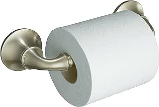 KOHLER K-11374-BN Forté Toilet Tissue Holder, Vibrant Brushed Nickel