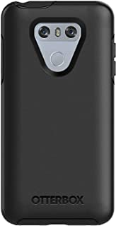 OtterBox Symmetry Series Slim Case for LG G6 - Non-Retail Packaging - Black