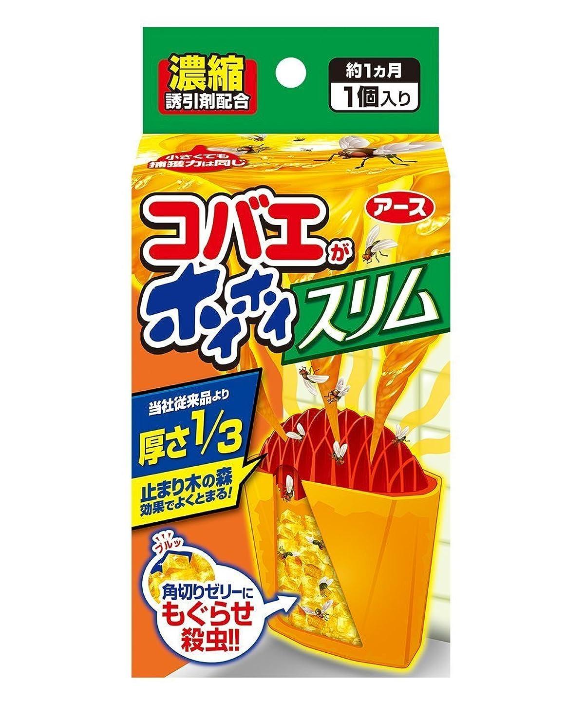 プットベットミケランジェロ【アース製薬】コバエがホイホイ スリム ×3個セット