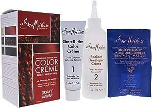 Shea Moisture Nourishing Rich System Bright Auburn 1 Application Hair Color for Unisex