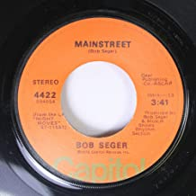 Bob Seger 45 RPM Mainstreet / Jody Girl