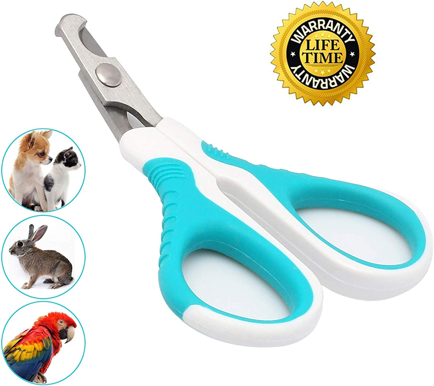 Cat Nail Clippers for Small Animals,Cat Claw Clippers Scissors & Nail Cutter Professional Grooming Cat Claw Trimmer for Cats