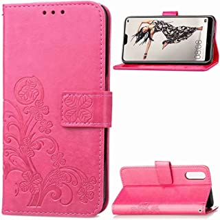 FanTing Case for Xiaomi Redmi 6A,Four-leaf clover series Mobile Wallet Flip Cover with Mobile Phone Holder and Card Slot,M...