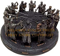 YK YesKela King Arthur and The Medieval Hero Knights of The Round Table Figurine Sculpture