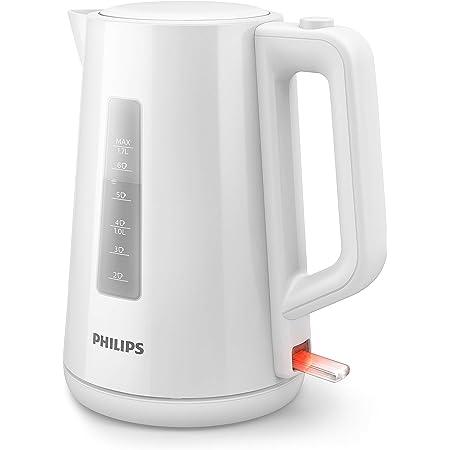 Philips HD9318/00 Bouilloire Plastique Blanche 1,7 L, 2 200 W