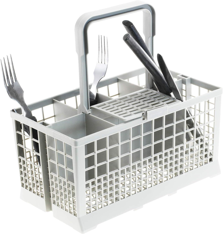 Cesta de cubiertos para lavavajillas   cesta universal para lavavajillas   60 cm de ancho   Dimensiones: [240 x 136 mm]   de plástico resistente al calor de CleanMonster
