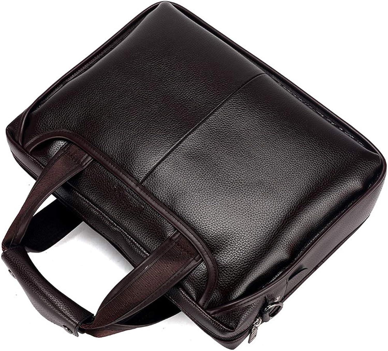 Cimic 2018 Männer Klassische Echtleder Business Business Business Handtasche Aktentasche Schulter Messenger Satchel Tasche Für 13  Laptop MacBook,braun B07HTW1WT2   | Up-to-date-styling  c29272