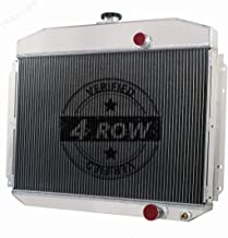 STAYCOO 4 Row All Aluminum Radiator for Ford F100 F250 F350 Truck Pickup 1961-1964