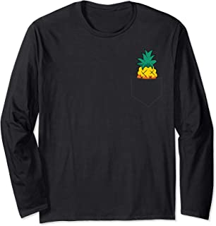 Sponsored Ad - Cute Pineapple In A Pocket Summer Pineapple Long Sleeve T-Shirt