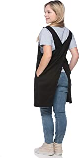 aprons that criss cross in the back