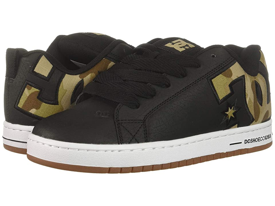 DC Court Graffik SE (Black/Military Camo) Men