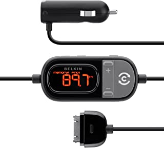 Belkin Tunecast FM Transmitter for Apple iPod, iPhone 3, iPhone 3G, iPhone 4, and iPhone 4S