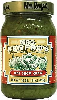 Mrs. Renfro's Hot Chow Chow, 16 oz