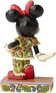 Enesco Jim Shore Disney Traditions Minnie in Christmas Pajamas Figurine