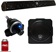 Wet Sounds Stealth 10 Surge Sound Bar w/WW-BTVC Bluetooth Volume Controller and AS-8 8