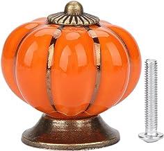 Set van 10 kleurrijke Halloween pompoen keramische kast kast kast deur knoppen dressoir lade trekt meubels garderobe keuke...